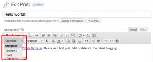 Wordpress(ワードプレス)の投稿編集 カスタマイズのプラグインや方法について