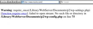 ワードプレス(Wordpress)でwarningやstrict standard、noticeエラーが突然表示されるようになったときの対処方法