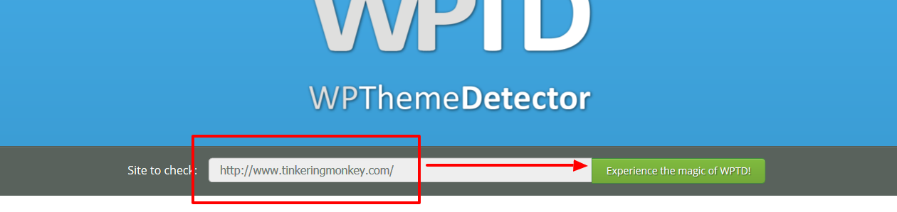 WordPress Theme Detector   Free online tool to find a site´s theme(1)
