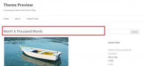 Wordpress ワードプレスの投稿やページのタイトルを隠す(消す)方法