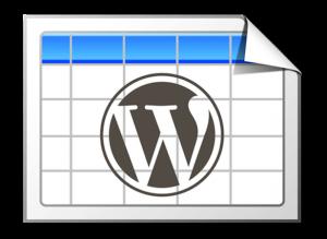 Wordpress テーブル作成プラグインTablePressで列を任意の順位で並べ替え可能にする方法