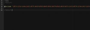 ワードプレスindex.phpのマルウェア(ウィルス)感染事例